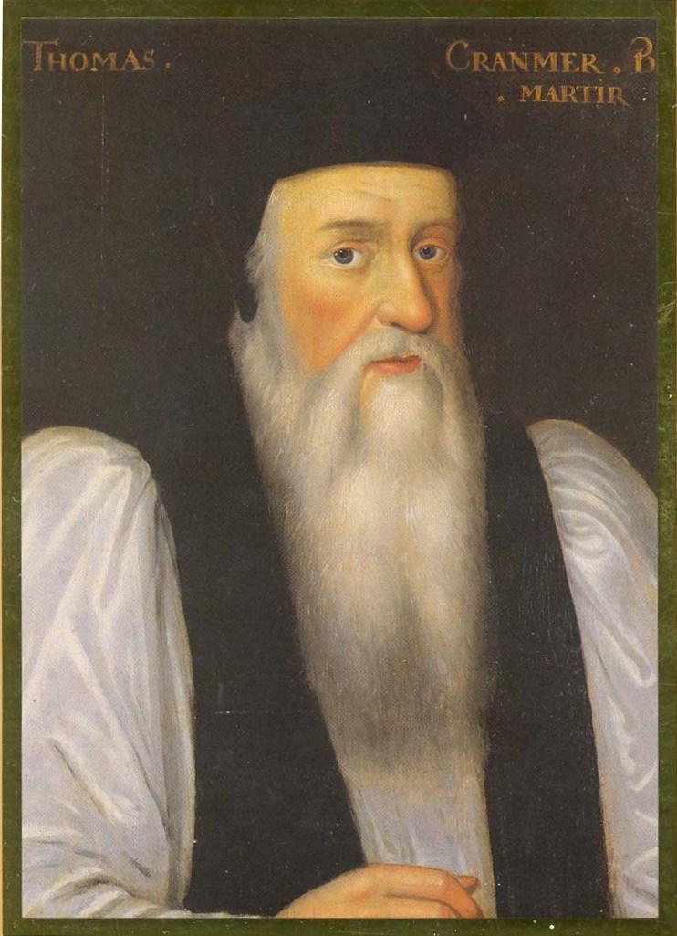 Thomas Cranmer family background