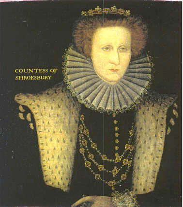 Image result for Bess of hardwick