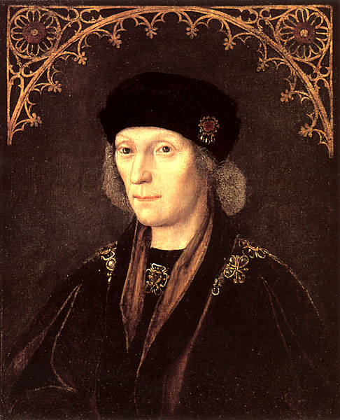 Henry VII in middle age, painted by an unknown artist