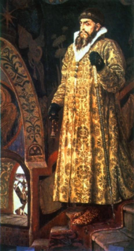 Оклеветанный царь Иван Грозный.