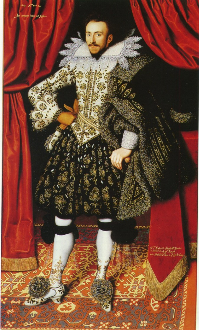Richard Sackville 3rd Earl of Dorset c1613 William Larkin